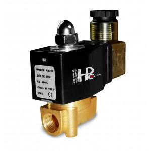 Solenoidinis vožtuvas 2N08 1/4 230 V arba 24 V, 12 V Viton - atsparus chemikalams