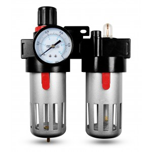 Filtro dehidratoriaus reguliatoriaus tepalas FRL 1/2 colio, nustatytas oro BFC4000