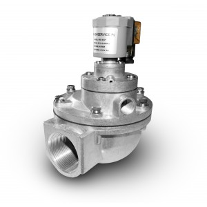 Impulsinis solenoidinis vožtuvas filtrui valyti 1 1/2 colio MV45T