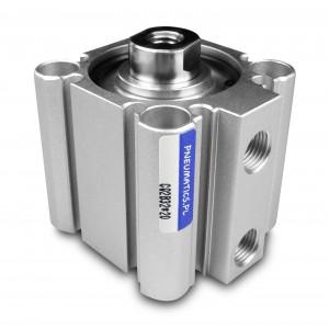 Pneumatiniai cilindrai kompaktiški CQ2 63x20