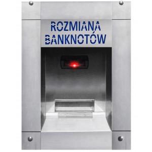 Pinigų keitiklis banknotams prie plovyklos (neperšlampamas)