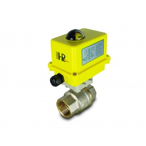 Rutulinis vožtuvas 1 1/2 colio DN40 su elektrine pavara A250