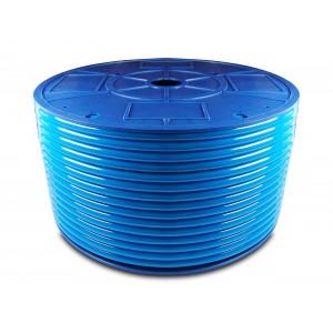 Poliuretano pneumatinė žarna PU 6/4 mm 1m mėlyna