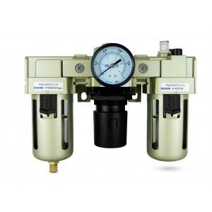 Filtro dehidratoriaus reguliatoriaus tepalas FRL 1/2 colio, nustatytas orui AC4000-04