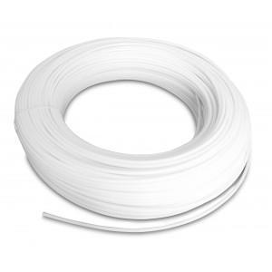Poliamidinė pneumatinė žarna PA Tekalan 12/9 mm 1m balta