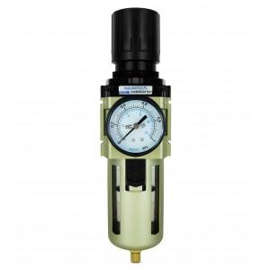 Filtro dehidratoriaus reduktoriaus reguliatoriaus manometras 1/2 colio AW4000-04