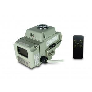 Rutulinio vožtuvo elektrinė pavara A1600 230V AC 160Nm valdymas 4-20mA