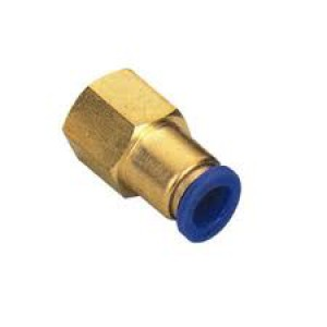 Įkiškite spenelio žarną 6 mm vidinis sriegis 1/4 colio PCF06-G02