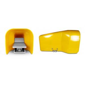 Kojų vožtuvas, oro pedalas 5/2 1/4 cilindrui 4F210LG - dvisienis su dangteliu