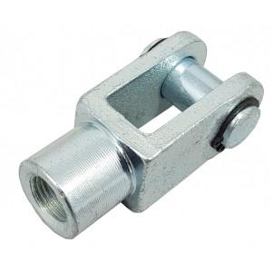Jungties galvutė Y M6 pavara 16 mm ISO 6432