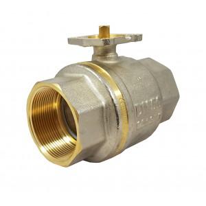 Rutulinis vožtuvas 1 1/2 colio DN40 PN25 tvirtinimo plokštė ISO5211